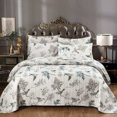 ベッドカバー シングル  ダブル 3点セットキルティング 掛け布団カバー 枕カバー ピローカバー 寝具 ベッド 布団 四季兼用
