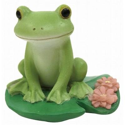 Copeau コポー ミニ カエル座り 雑貨 小物 オブジェ カエル 置き物 置物 オブジェ 蛙 フロッグ FROG ガーデン雑貨  小物 マスコット ミニチュア 71449