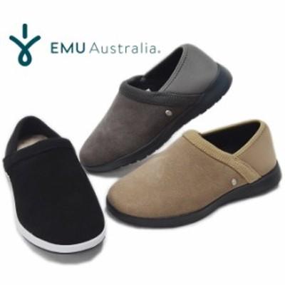 EMU エミュ エミュー スリッポン W12504 Tefler テフラー ムートン シープスキン モックスニーカー 撥水 軽量 レディース 靴 EMU AUSTRAL