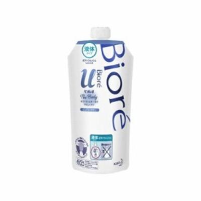 (詰替え)ビオレu ザ ボディ The Body 液体タイプ ピュアリーサボンの香り つめかえ用(340ml)