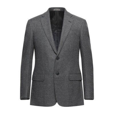 アルマーニ コレッツィオーニ ARMANI COLLEZIONI テーラードジャケット ブラック 48 ウール 42% / ポリエステル 30% /