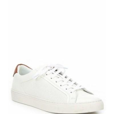 スティーブ マデン メンズ スニーカー シューズ Men's Finneas Lace-Up Sneakers White