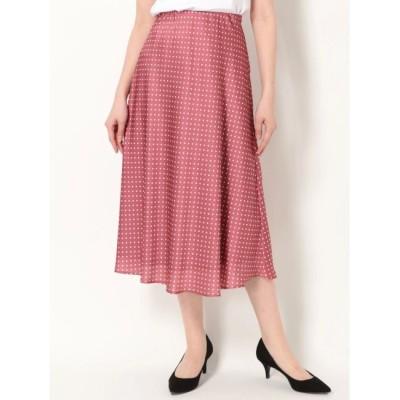 【マーキュリーデュオ/MERCURYDUO】 ドットセミAラインスカート