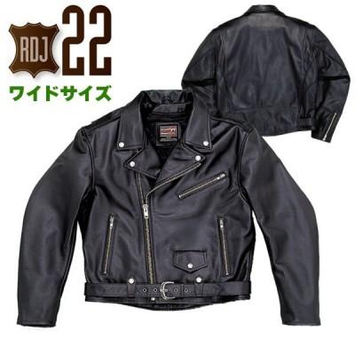 ナンカイ RDJ-22BB ヴィンテージサイクルジャケット ワイドサイズ バイク・オートバイ用 レザー ジャケット