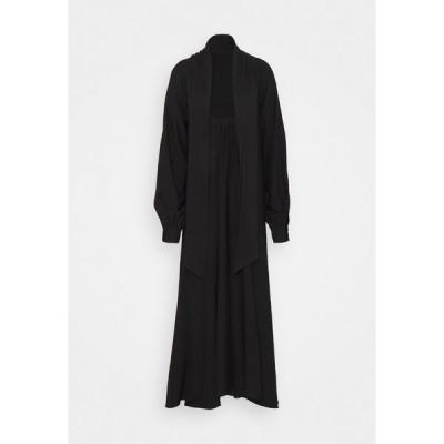 エヌ エー ケイ ディ ワンピース レディース トップス VIVIAN HOORN X NA-KD HIGH SLIT DRESS - Maxi dress - black