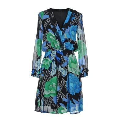 ピンコ PINKO ミニワンピース&ドレス ブラック 44 100% レーヨン ミニワンピース&ドレス