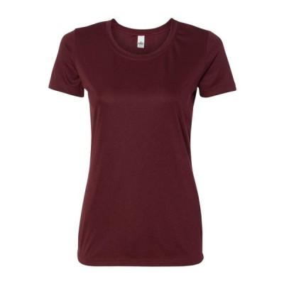 レディース 衣類 トップス All Sport T-Shirts Women's Polyester T-Shirt Tシャツ