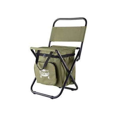 屋外 折りたたみ,ポータブル キャンプ椅子,軽量 コンパクト 釣り椅子,バックパック クーラーチェア【並