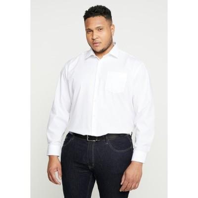 サイデンステッカー シャツ メンズ トップス COMFORT FIT - Shirt - white