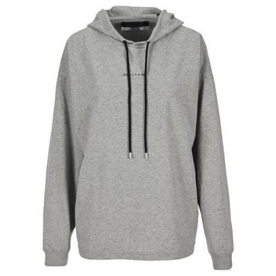 1017 アリクス 9 エスエム レディース ニット&セーター アウター 1017 ALYX 9SM Logo Print Hoodie -