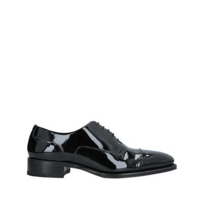 DSQUARED2 レースアップシューズ  メンズファッション  メンズシューズ、紳士靴  その他メンズシューズ、紳士靴 ブラック