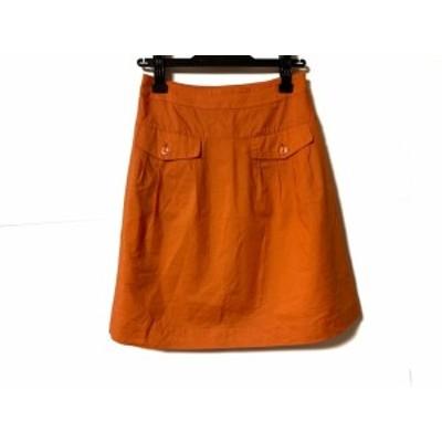 ジャスグリッティー JUSGLITTY スカート サイズ2 M レディース オレンジ【中古】