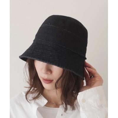 RiNc / 【 ammy. / エイミードット 】 デニム ライン ディープ バケット ハット / バケハ WOMEN 帽子 > ハット