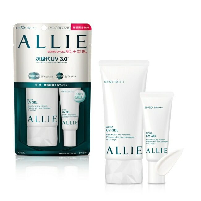 ALLIE EX UV高效防曬水凝乳N 限定組 (買大送小 90g+15g)