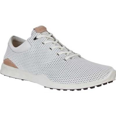 エコー メンズ スニーカー シューズ Golf S Lite Sneaker White Leather