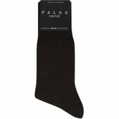 ファルケ FALKE メンズ ソックス インナー・下着 Firenze cotton socks Brown