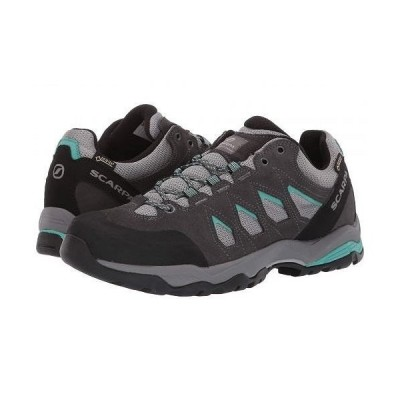 SCARPA スカルパ レディース 女性用 シューズ 靴 スニーカー 運動靴 Moraine GTX - Grey/Lagoon