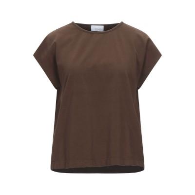 SOHO-T T シャツ ココア XS コットン 90% / ポリウレタン 10% T シャツ