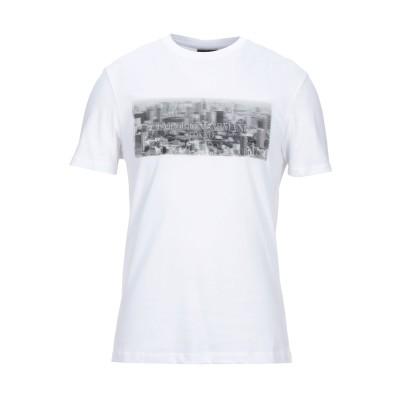 エンポリオ アルマーニ EMPORIO ARMANI T シャツ ホワイト S コットン 100% / ポリエステル T シャツ