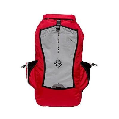 Aqua Questアクアクエスト Sport 25L バックパック 100%防水 レッドリフレクティブ輸入品