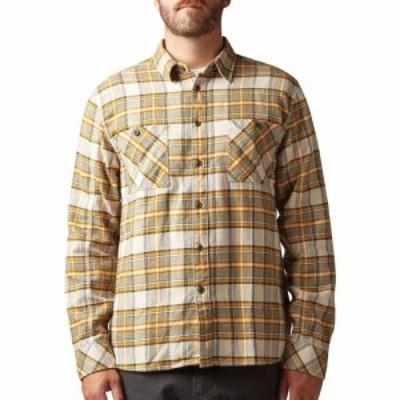 アーバー Arbor メンズ シャツ トップス highlands shirt Mustard