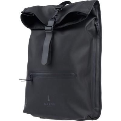 レインズ RAINS メンズ バッグ backpack & fanny pack Black