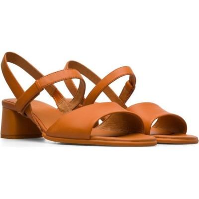 カンペール CAMPER レディース サンダル・ミュール シューズ・靴 Katie Sandal Medium Orange Leather