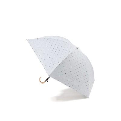 JILLSTUART / JILLSTUART(ジルスチュアート) マルチカラードットカットジャカードUV遮光晴雨兼用パラソルおりたたみ傘(曲がり手元)1JI277-25