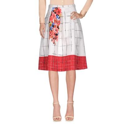 リュー ジョー LIU •JO 7分丈スカート ホワイト 38 ポリエステル 100% 7分丈スカート