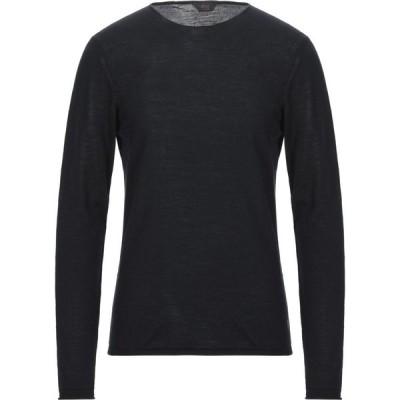 オジオ HoSIO メンズ ニット・セーター トップス Sweater Black