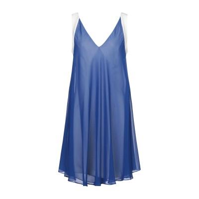 HEFTY ミニワンピース&ドレス ブルー 42 ポリエステル 100% ミニワンピース&ドレス