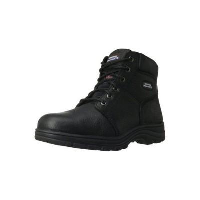 ブーツ スケッチャーズ Skechers for Work 77009 メンズ Workshire Relaxed Fit ブーツ. Black