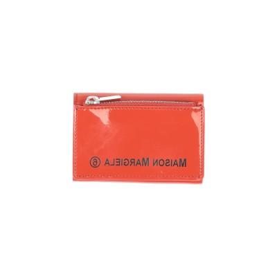 MM6 メゾン マルジェラ MM6 MAISON MARGIELA 財布 オレンジ 革 財布