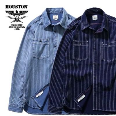 HOUSTON/ヒューストン 40691 WABASH WORK SHIRT / ウォバッシュワークシャツ -全2色-