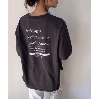 tシャツ Tシャツ バックビックロゴTシャツ