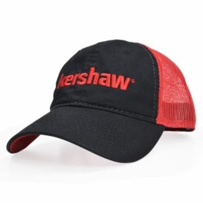 Kershaw メッシュキャップ ロゴ刺繍 ベルクロ[kscap181]