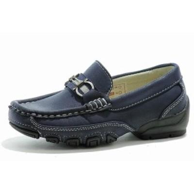 キッズ シューズ Easy Strider Boys The Performance Fashion Loafer School Blue Uniform Shoes
