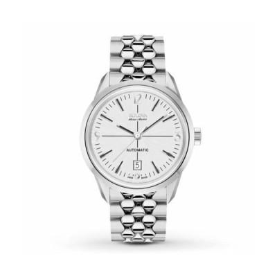 腕時計 ブローバ メンズ Bulova 63B177 Men's Murren Accu Swiss Silver Automatic Watch