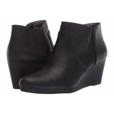 LifeStride ライフストライド レディース 女性用 シューズ 靴 ブーツ アンクル ショートブーツ Nayelle Black【送料無料】