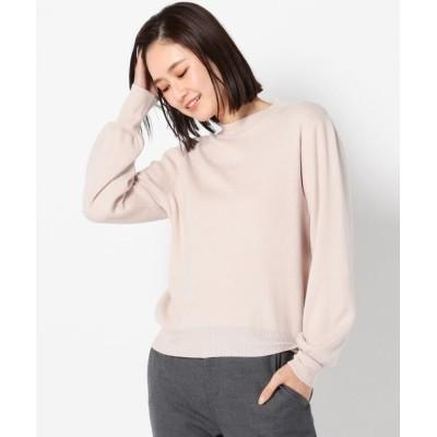 【ミューズ リファインド クローズ】 もちもちハイネックラメニットプルオーバー レディース ベージュ M MEW'S REFINED CLOTHES