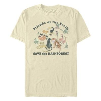 フィフスサン Tシャツ トップス メンズ Men's Save The Rainforest Short Sleeve Crew T-shirt Natural