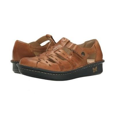 Alegria アレグリア レディース 女性用 シューズ 靴 クロッグ ミュール Pesca - Cognac Leather