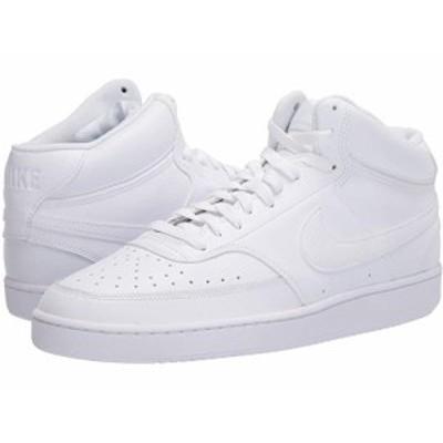 (取寄)ナイキ コート ビジョン ミッド Nike Court Vision Mid White/White/White