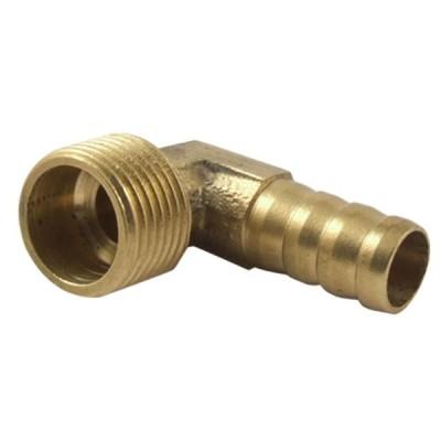uxcell エルボーホースバイブ 継手 ねじ 真鍮 アングル カプラー コネクタ