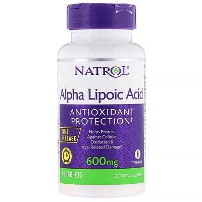 アルファリポ酸、持続放出型、600 mg、45錠