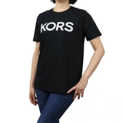 マイケル・コース MICHAEL KORS レディース−Tシャツ MB95MP197J BLACK ブラック apparel-01 レディース ts-01