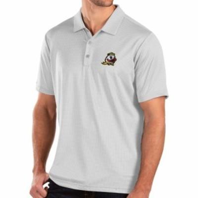 アンティグア Antigua メンズ ポロシャツ トップス Oregon Ducks Balance White Polo