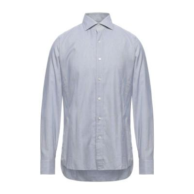 トム フォード TOM FORD シャツ ライトグレー 40 コットン 100% シャツ