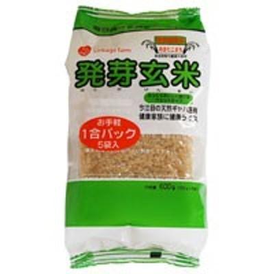 発芽玄米・特別栽培米あきたこまち(120g×5)【アジテックファインフーズ】