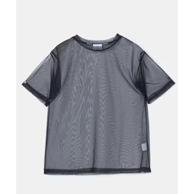 tシャツ Tシャツ チュールトップス